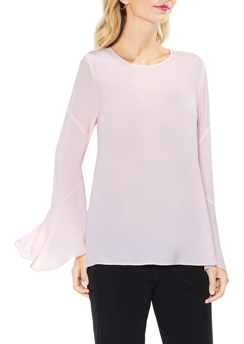 Vince Camuto Flared Cuff Blouse