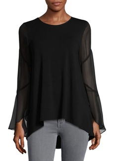 Vince Camuto Flared Sleeve Blouse