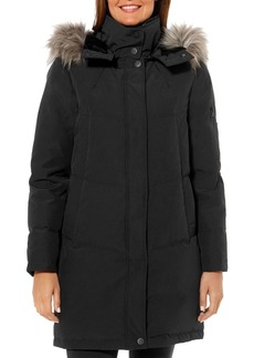 VINCE CAMUTO Flash Faux Fur-Trim Puffer Coat