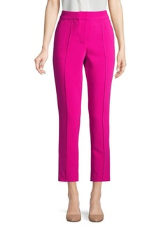 Vince Camuto Flat-Front Cropped Pants