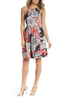 Vince Camuto Floral Fit-and-Flare Dress (Regular & Petite)