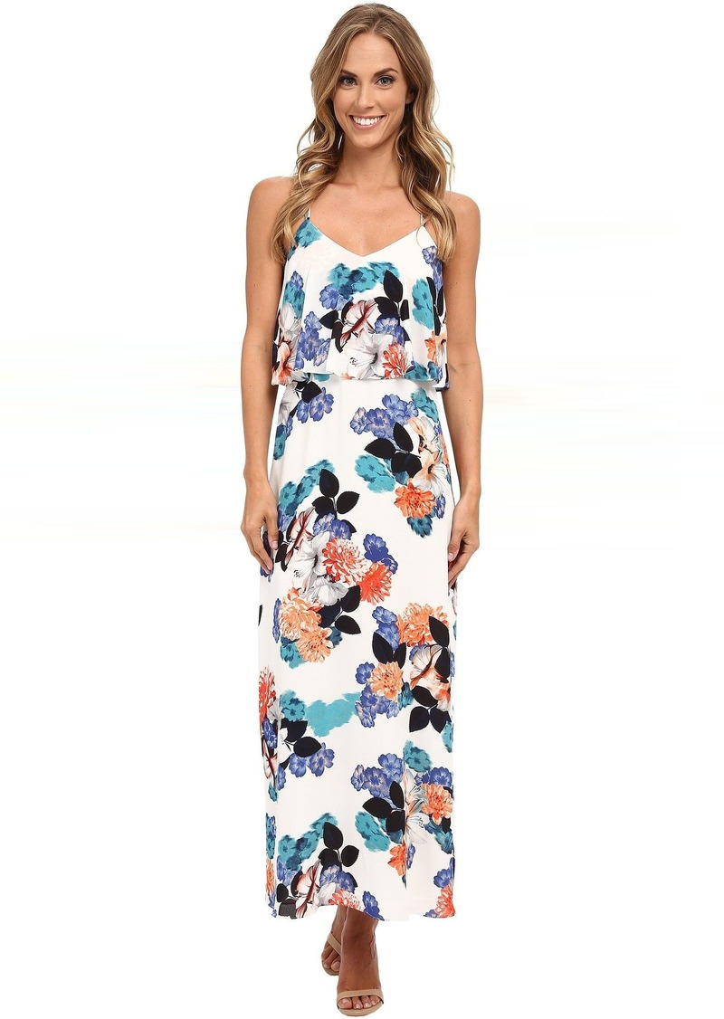 9658991f254 On Sale today! Vince Camuto Vince Camuto Floral Garden Maxi Dress w ...