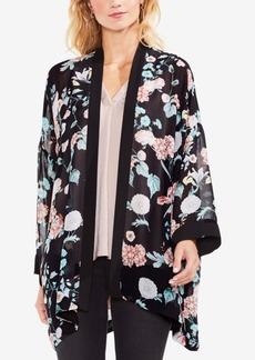 Vince Camuto Floral Gardens Semi-Sheer Kimono