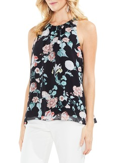 Vince Camuto Floral Gardens Sleeveless Blouse