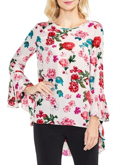 Vince Camuto Floral Heirloom Bell Sleeve Top