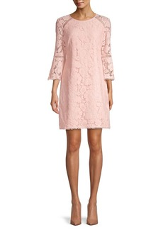 Vince Camuto Floral Lace T-Body Sheath Dress