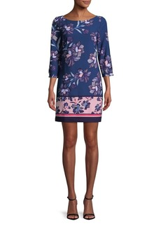 Vince Camuto Floral Multicolor Day Dress
