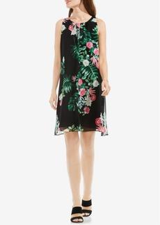 Vince Camuto Floral-Print Dress
