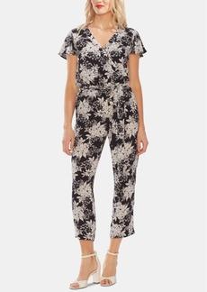 Vince Camuto Floral-Print Jumpsuit