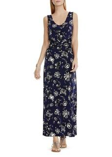 VINCE CAMUTO Floral Print Maxi Dress