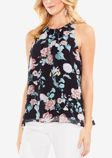 Vince Camuto Floral-Print Shell