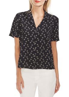 Vince Camuto Floral Print Shirt