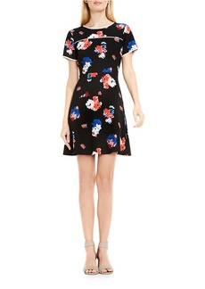 VINCE CAMUTO Floral Printed Dress