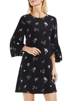 Vince Camuto Floral Ruffle Swing Dress