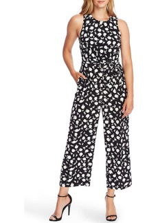 Vince Camuto Floral Shadows Wide Leg Jumpsuit