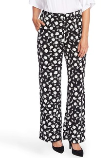 Vince Camuto Floral Shadows Wide Leg Pants