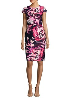 Vince Camuto Floral Sheath Dress