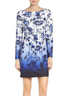 Vince Camuto Floral Sheath Dress (Regular & Petite)