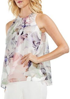 Vince Camuto Floral Sleeveless Blouse