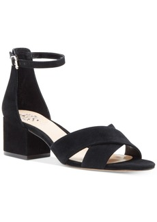 Vince Camuto Florrie Two-Piece Block-Heel Sandals Women's Shoes