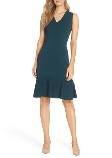 Vince Camuto Flounce Hem Sweater Dress (Regular & Petite)