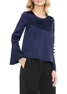 Vince Camuto Flutter Cuff Blouse