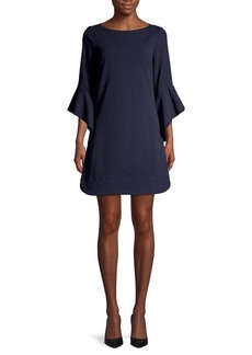 Vince Camuto Flutter Sleeve Dress