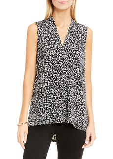 Vince Camuto Fluttering Notes Print Top