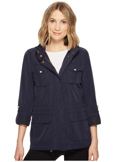 Vince Camuto Four Pocket Parka with Drawstring Waist and Hem