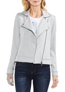 Vince Camuto French Terry Moto Jacket