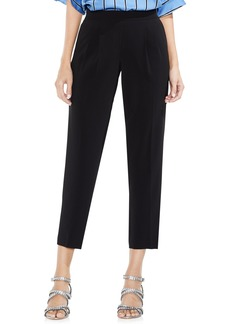 Vince Camuto Front Pleat Milano Twill Pants