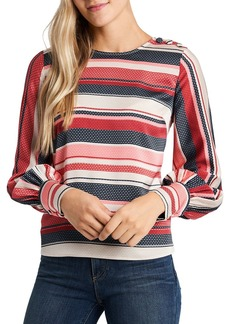 VINCE CAMUTO Gala Striped Top