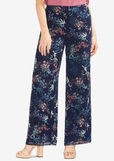 Vince Camuto Garden Heirloom Floral Wide-Leg Pants