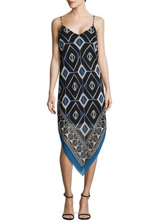 Vince Camuto Geometric MIdi Dress