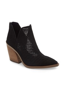 Vince Camuto Gibbela Woven Pointed Toe Bootie (Women)
