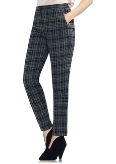Vince Camuto Glen Plaid Slim Leg Pants