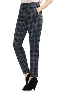 Vince Camuto Glen Plaid Slim Pants