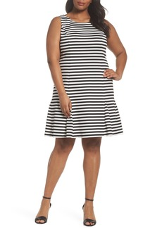 Vince Camuto Godet Body-Con Dress (Plus Size)