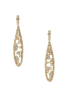 Vince Camuto Goldtone & Crystal Teardrop Earrings