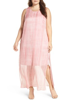 Vince Camuto Graceful Phrases Chiffon Maxi Dress