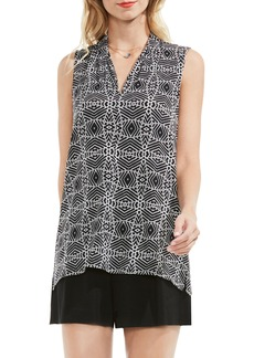 Vince Camuto Graphic Knit Top