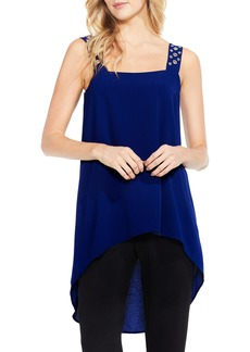 Vince Camuto Grommet Strap High/Low Tunic