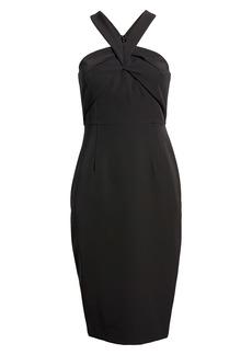 Vince Camuto Halter Neck Sleeveless Dress