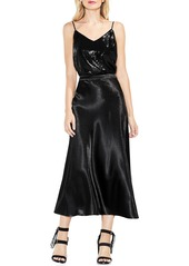 a981737e4b81c Vince Camuto Hammered Satin Maxi Skirt Vince Camuto Hammered Satin Maxi  Skirt