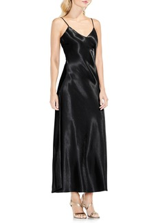 Vince Camuto Hammered Satin Maxi Slipdress