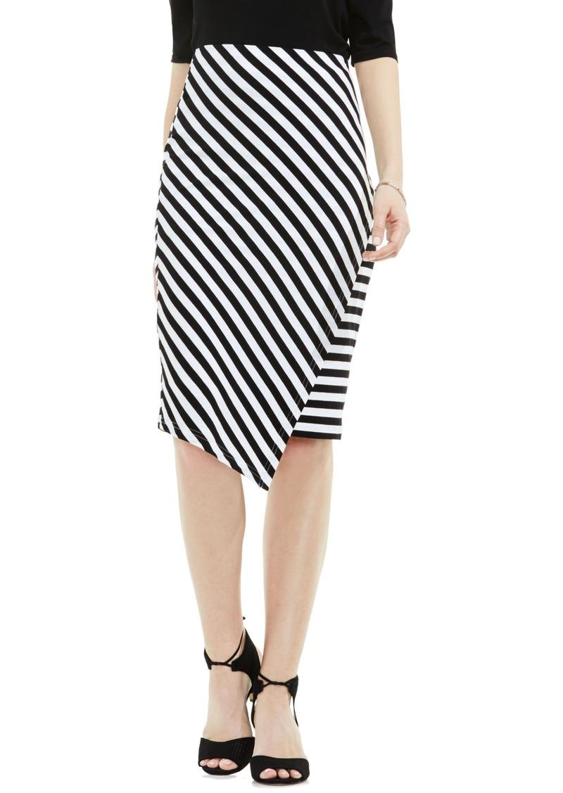 43eef8f34cdba Vince Camuto Vince Camuto Havana Stripe Faux Wrap Tube Skirt