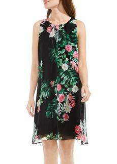 Vince Camuto Havana Tropical A-Line Dress
