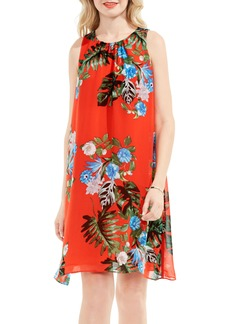 Vince Camuto Havana Tropical A-Line Dress