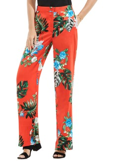 Vince Camuto Havana Tropical Wide Leg Pants