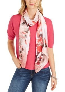 Vince Camuto Heavenly Rose Printed Scarf